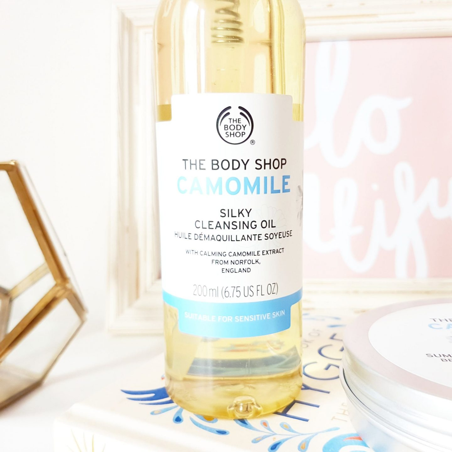 Camomile Oil & Butter Cleansers from The Body Shop