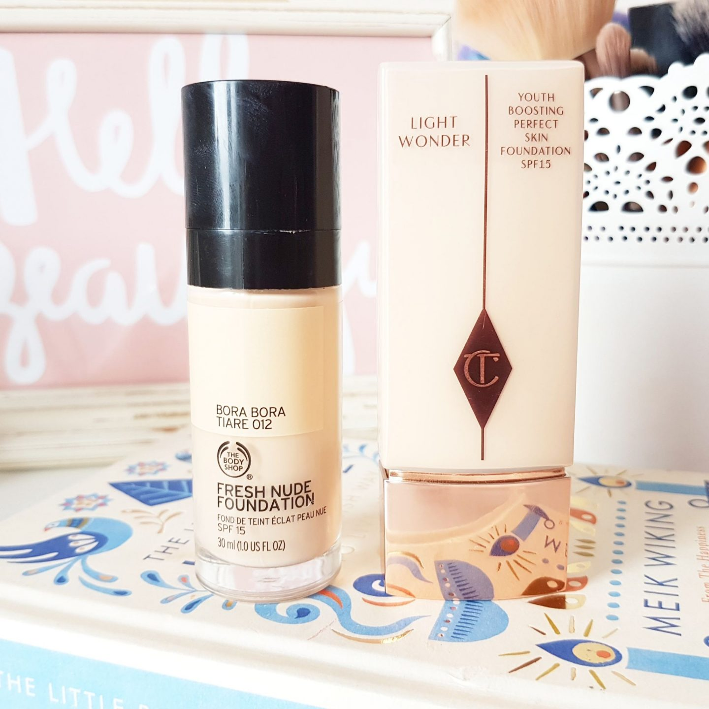 The Body Shop Fresh Nude Foundation | A Charlotte Tilbury Dupe?