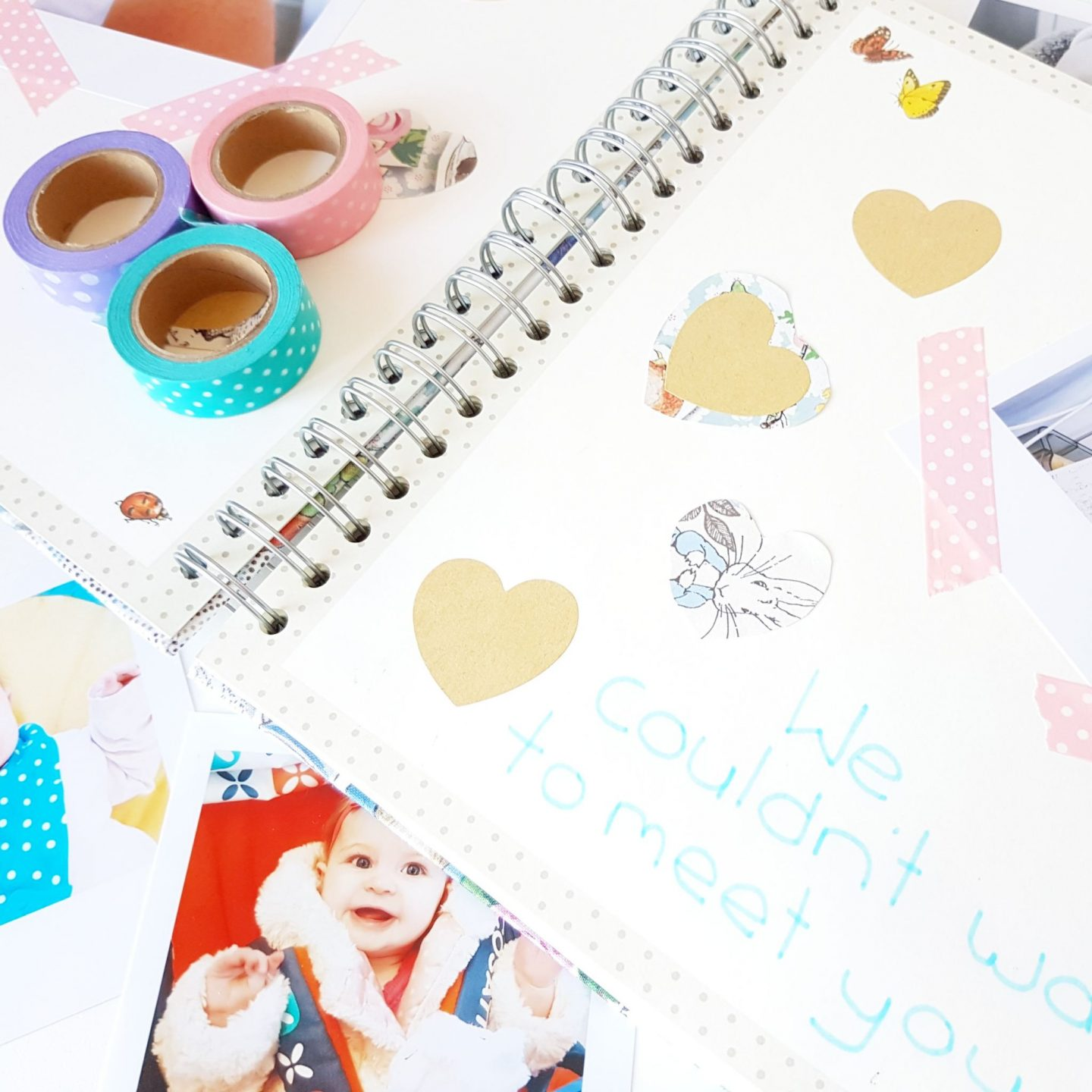 Creating a Baby Memory Book with Printiki