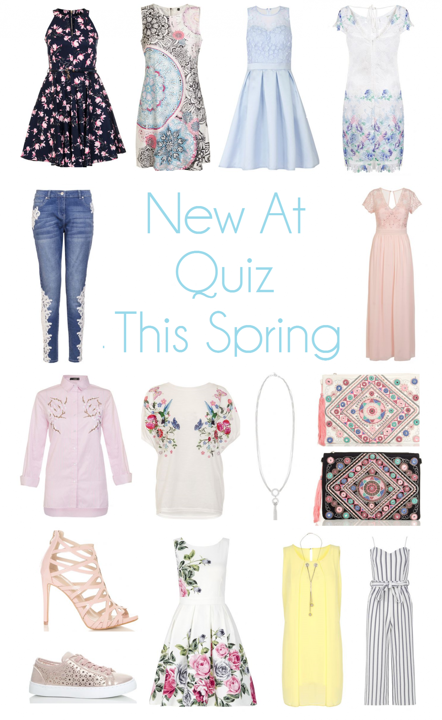 New at Quiz this Spring