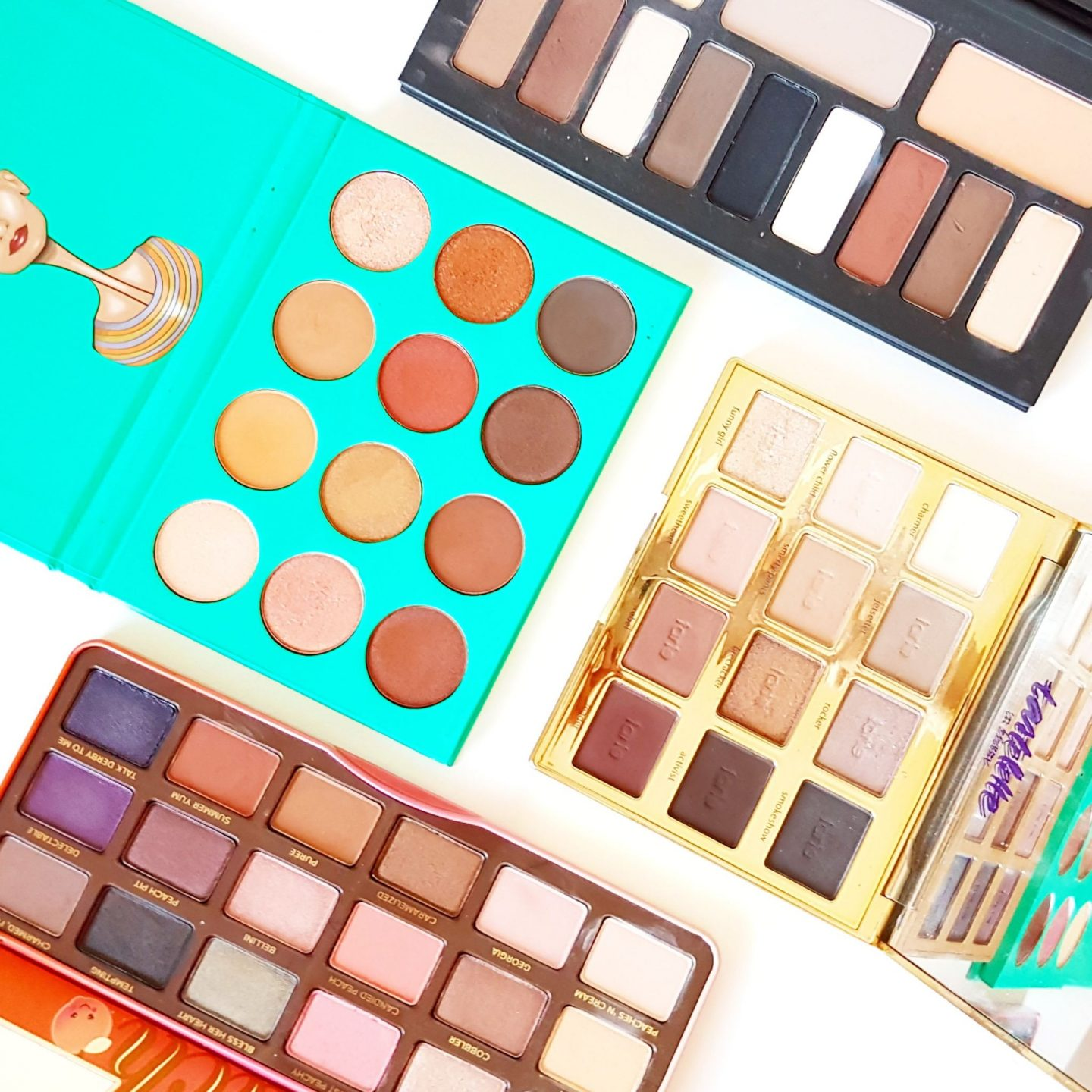 Beauty Chat | My Current Favourite Eyeshadow Palettes