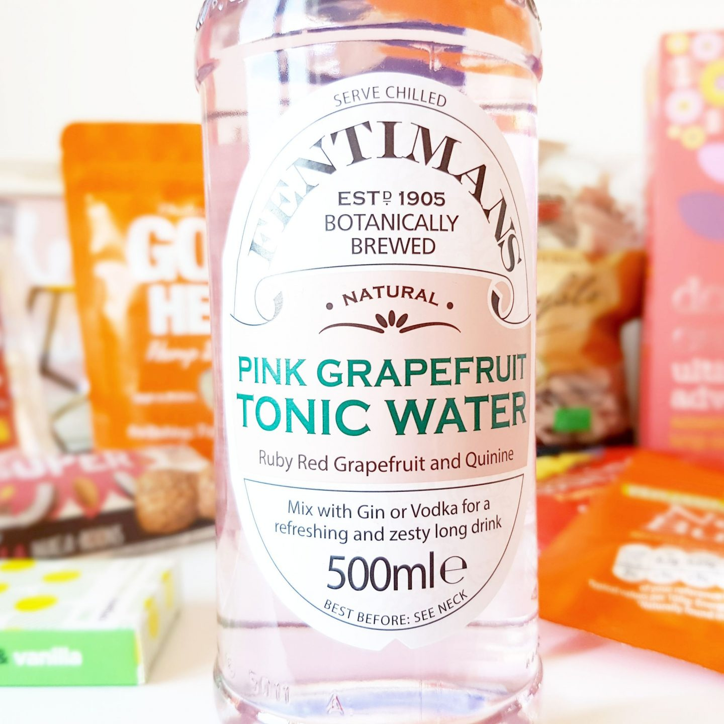 Degustabox | Fentiman's Pink Grapefruit and Tonic Water
