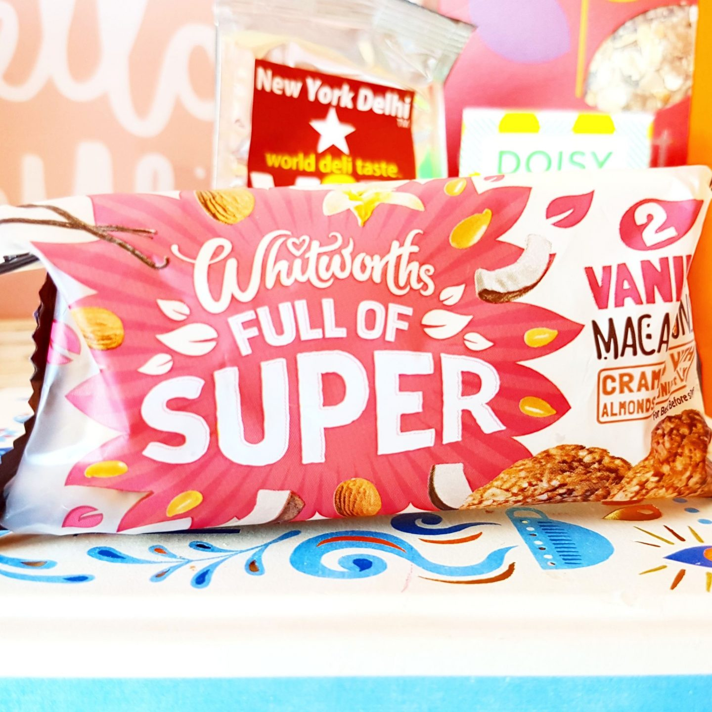 Degustabox | Whitworth's Full of Super Vanilla Maca-roons