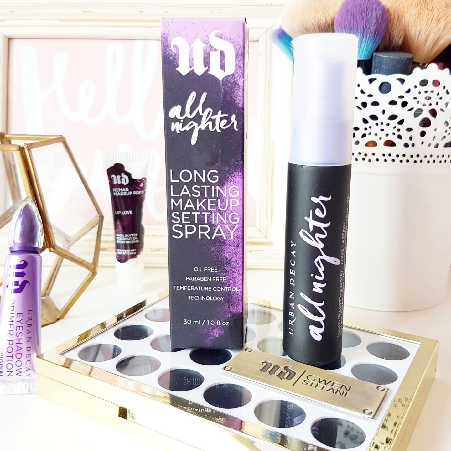 Urban Decay All Nighter Setting Spray Review