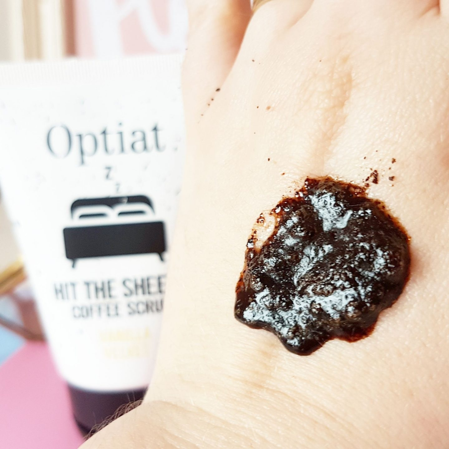 Optiat Hit The Sheets Coffee Scrub in Vanilla Velvet