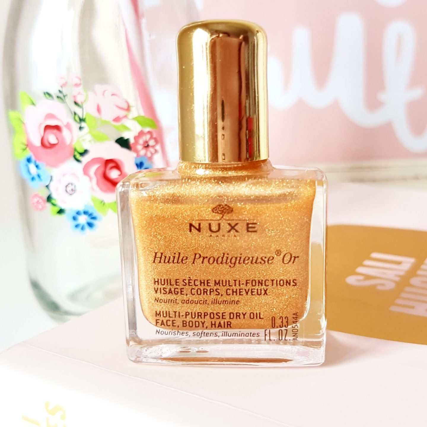 Love Me Beauty NUXE Huile Prodigieuse Gold