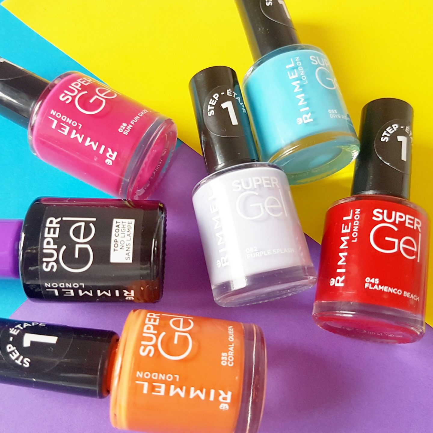 Rimmel London Super Gel Nail Polish | Two-Step Gel System For Salon-Style Nails #GelPower