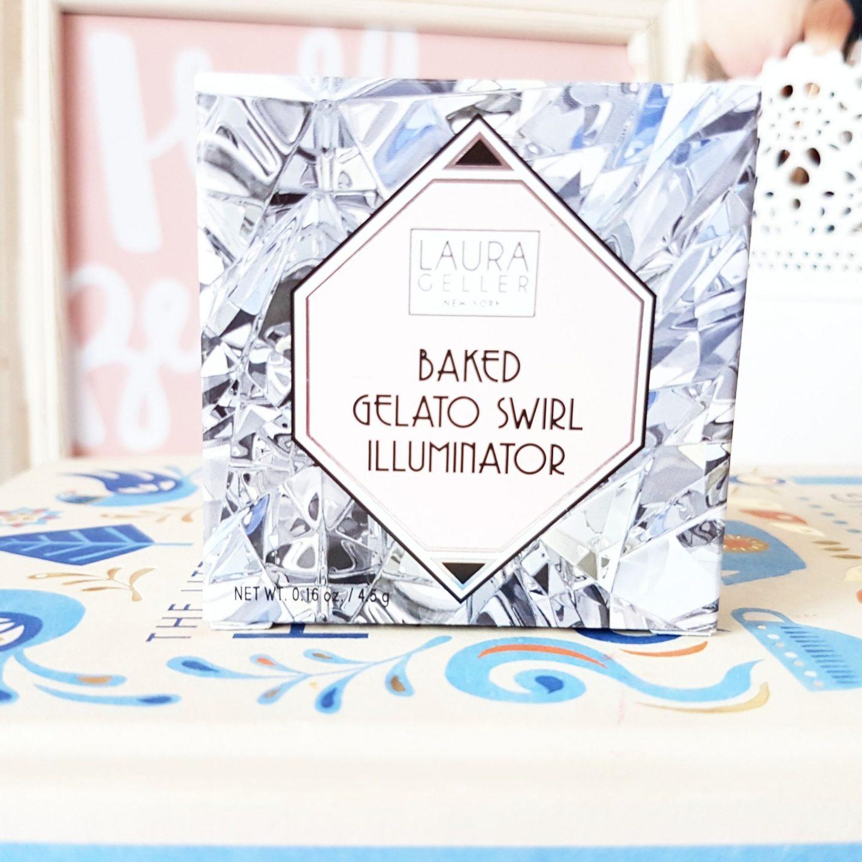 Laura Geller 20th Anniversary Baked Gelato Swirl Illuminator in Diamond Dust
