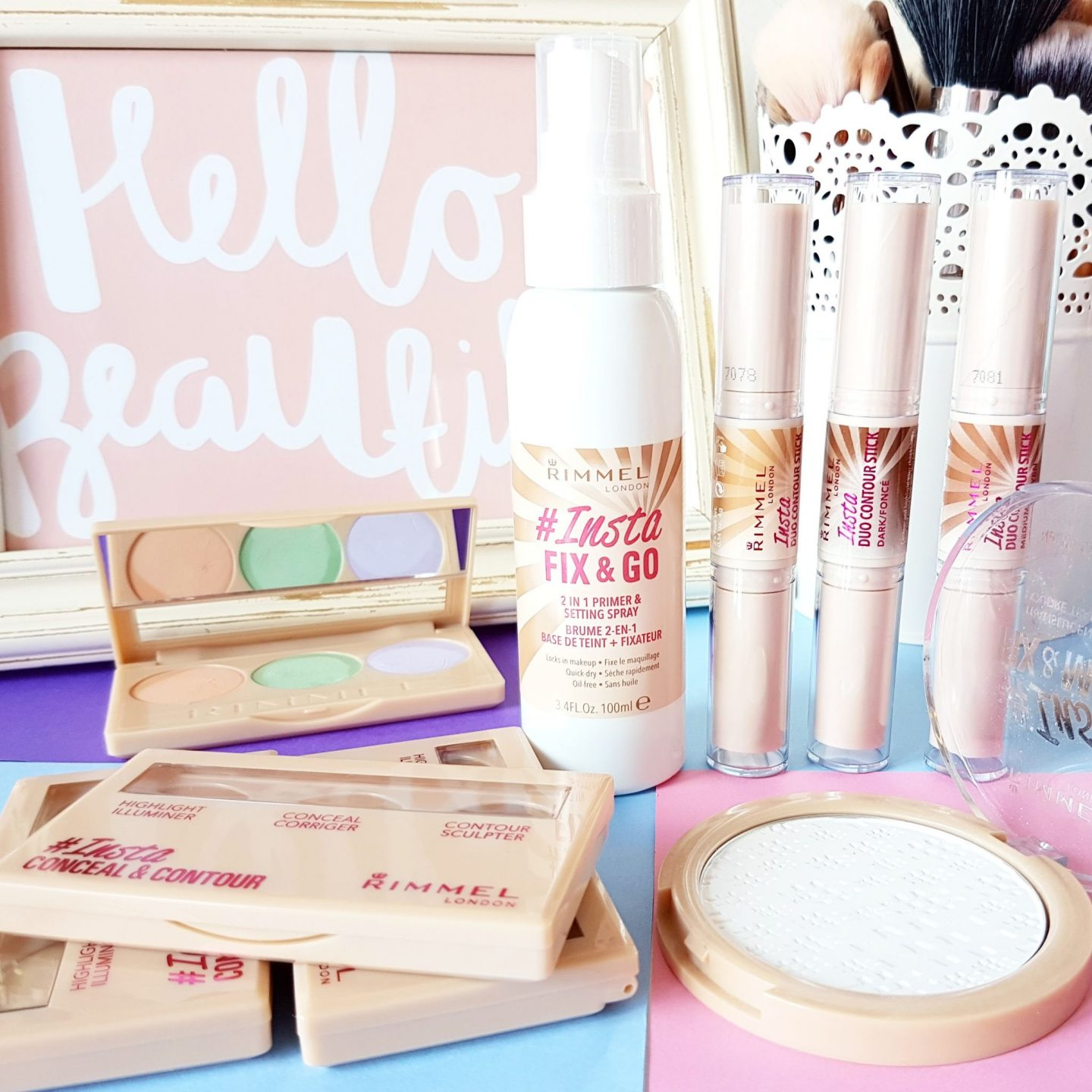 First Impressions of the Rimmel #Insta Collection