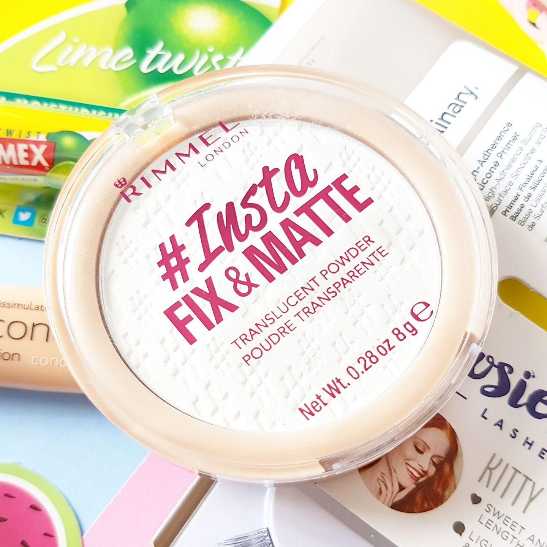July's Top Five Under £5 | Rimmel #Insta Fix & Matte Powder