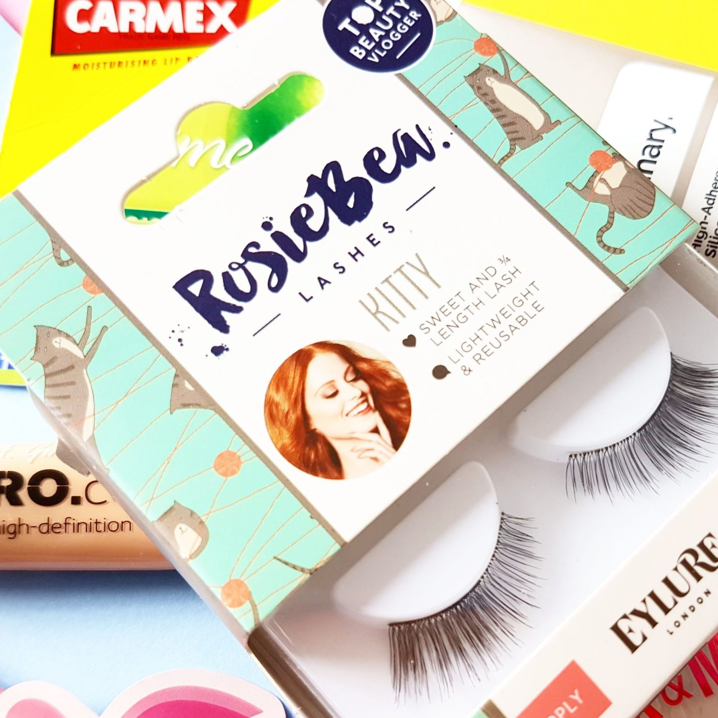 July's Top Five Under £5 | Rosie Bea Kitty Eyelashes