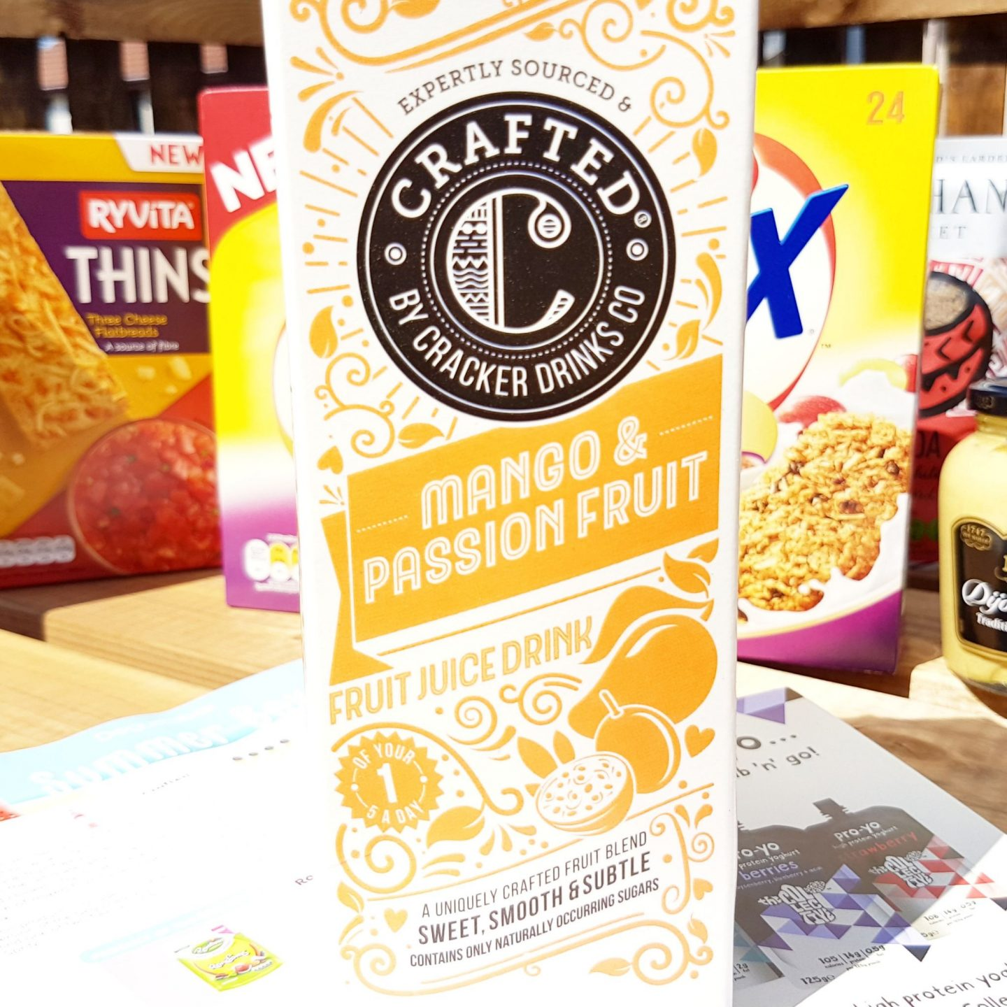 Degustabox | Fruit Juice Drink from The Crafted