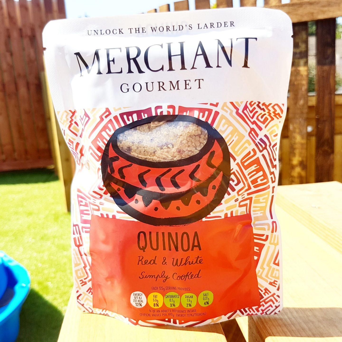 Merchant Gourmet Cooked Red & White Quinoa