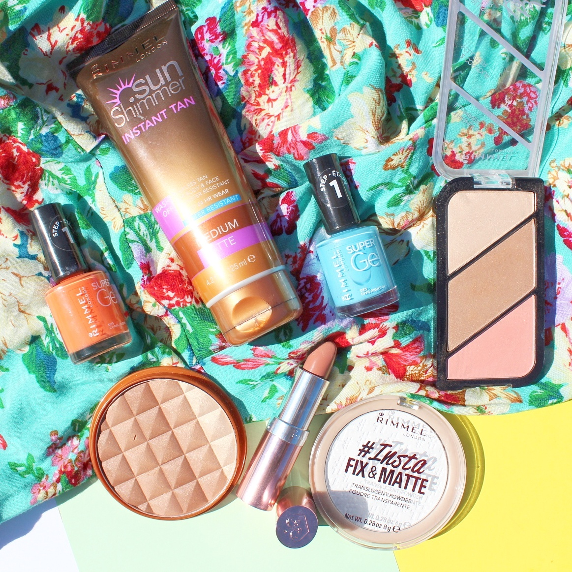 Contour, Highlight & Glow This Summer with Rimmel London
