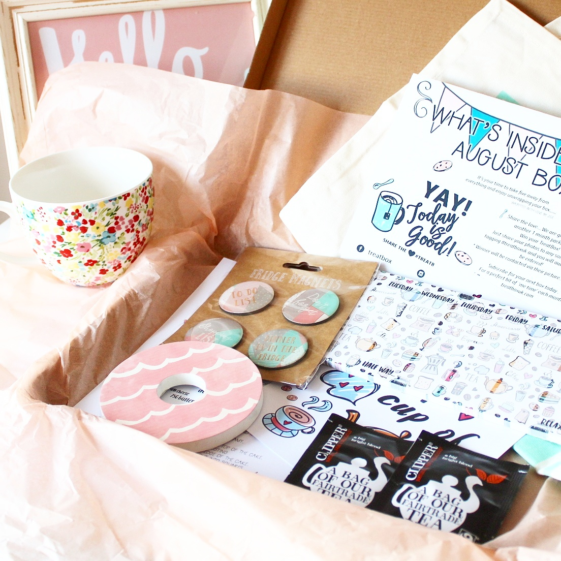 Grab a Cuppa with TreatBox | A Happy Little Box of Randomness