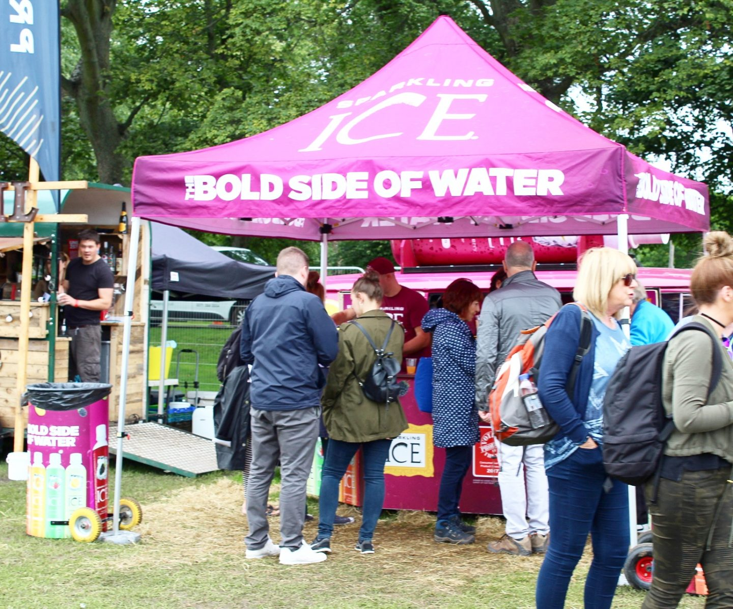 Edinburgh Foodie Festival with Sparkling Ice