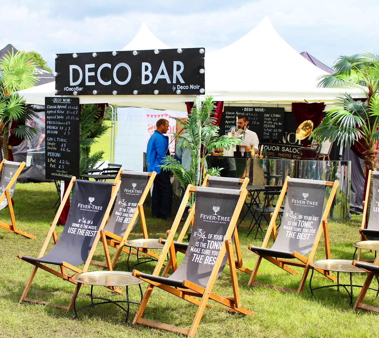 Edinburgh Foodie Festival | Deco Bar