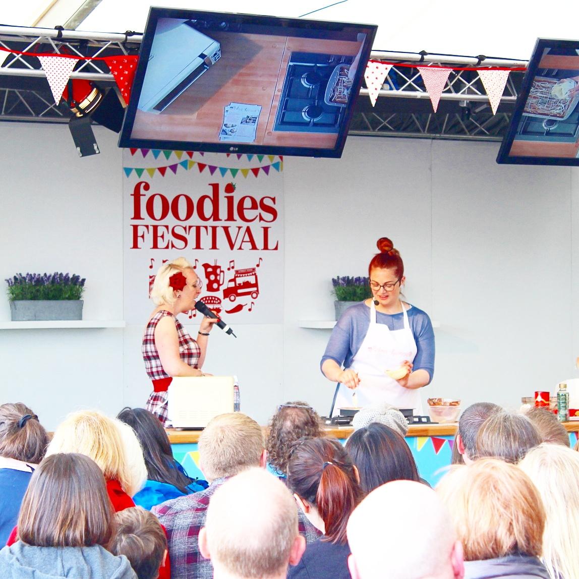 Edinburgh Foodie Festival with Sparkling Ice