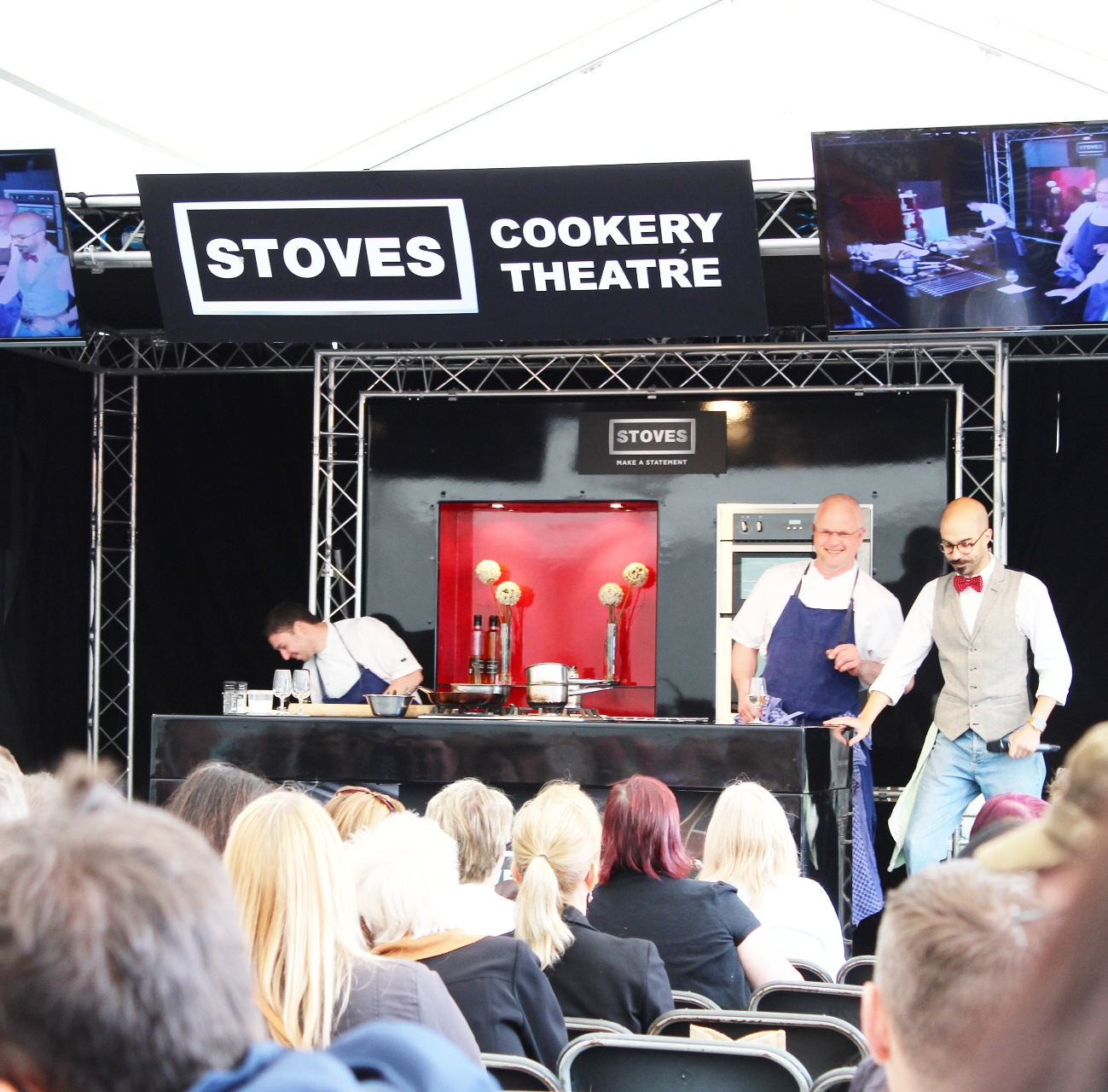 Edinburgh Foodie Festival with Le Roi Fou's Jerome Henry