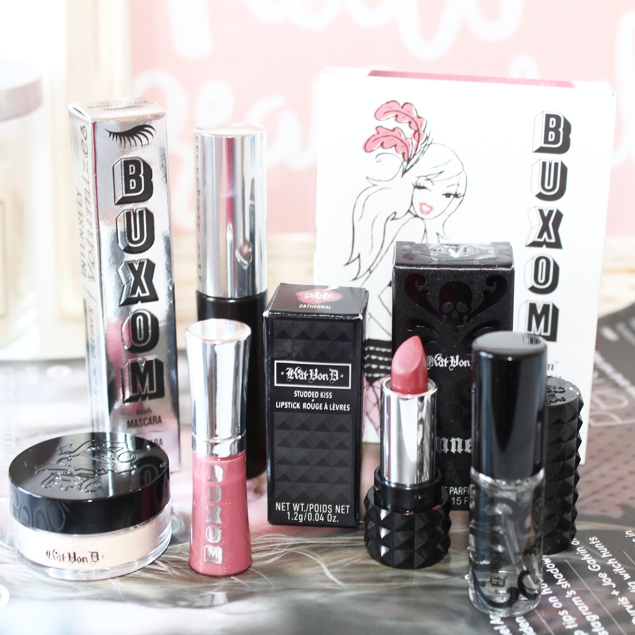 Love Me Beauty with Kat Von D Beauty & Buxom