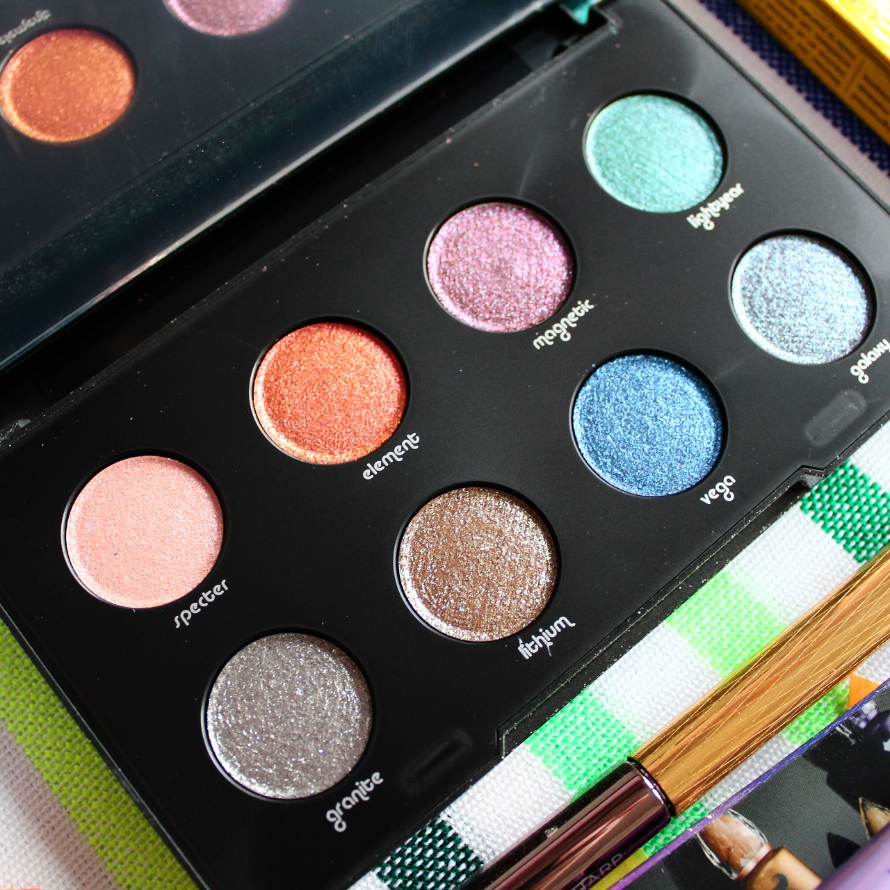 Urban Decay Moondust Glitter Eyeshadow Palette Review