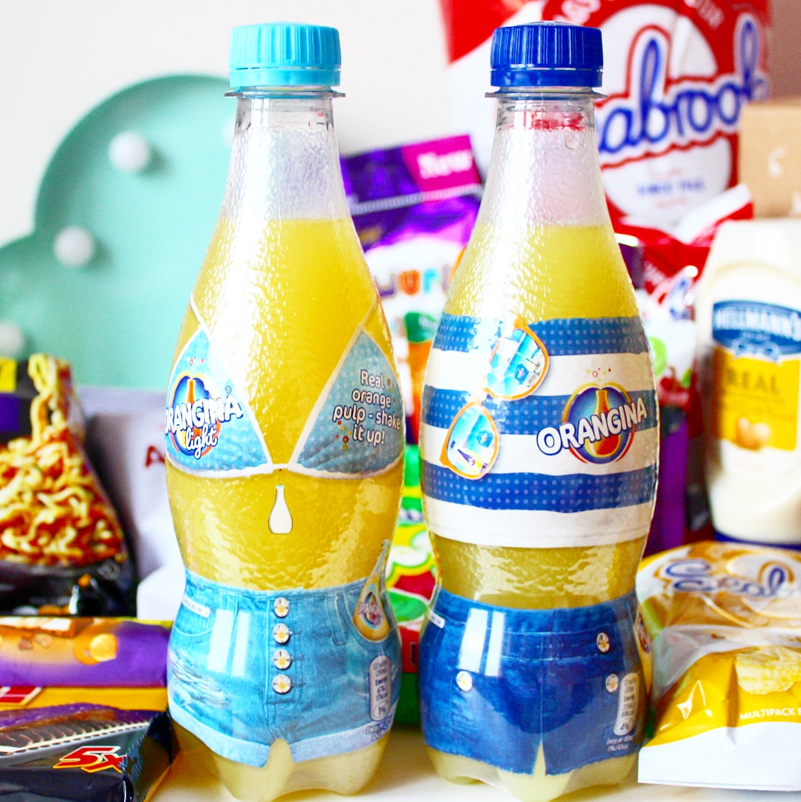 Orangina Limited Edition Summer Bottles