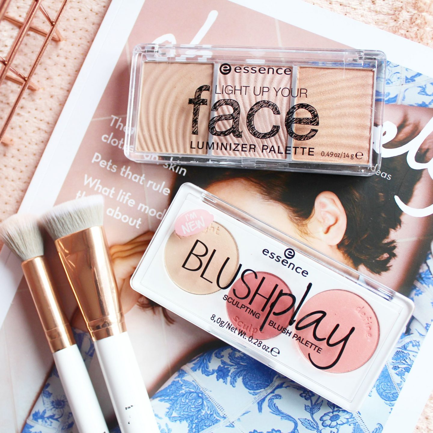 Essence Light Up Your Face & Blush Play Palettes