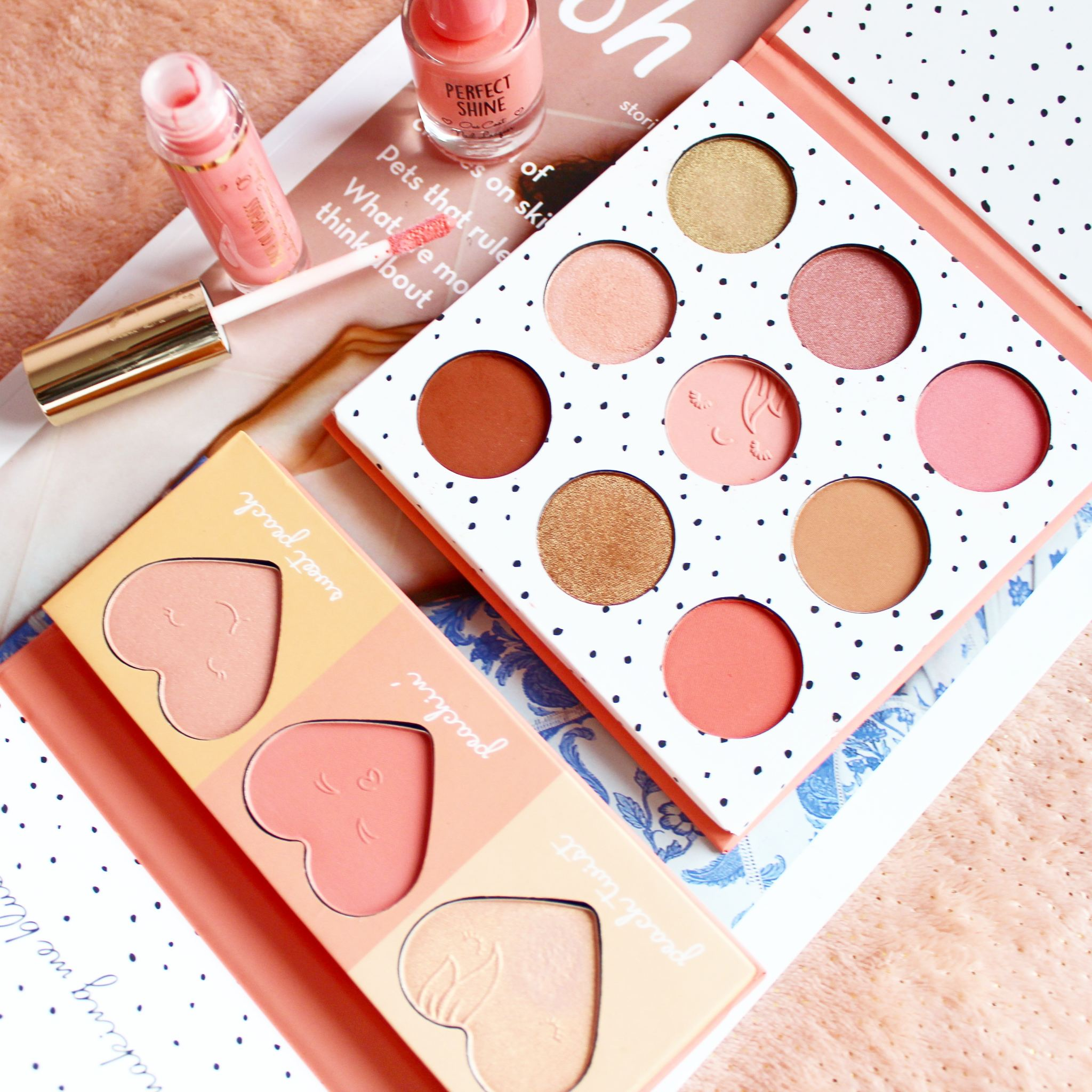 Primark Just Peachy Collection Review Amp Swatches