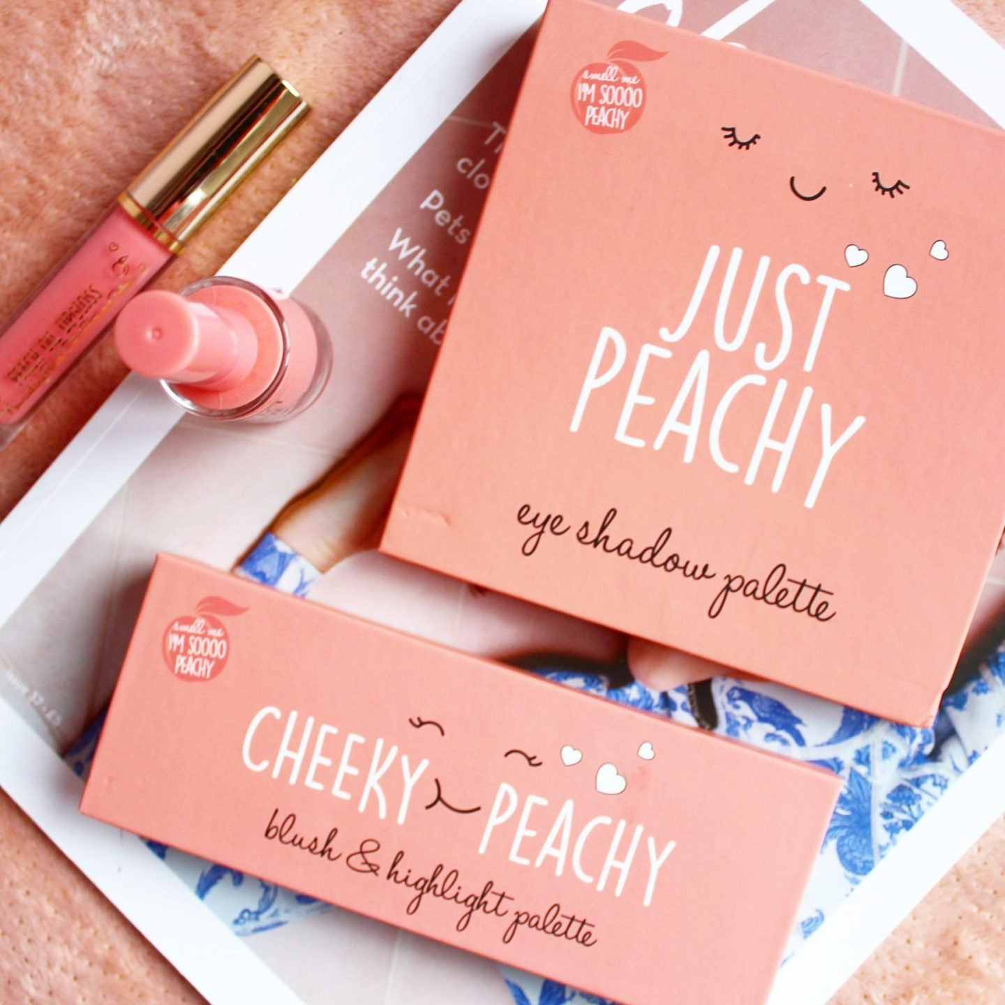 Primark Beauty 'Just Peachy' Collection | Review & Swatches