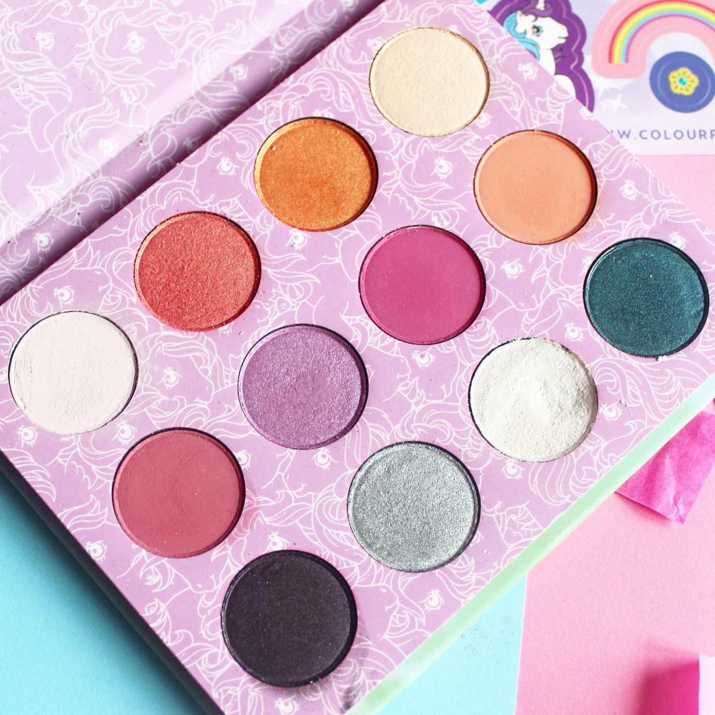 My Little Pony x ColourPop Eyeshadow Palette | Review & Swatches