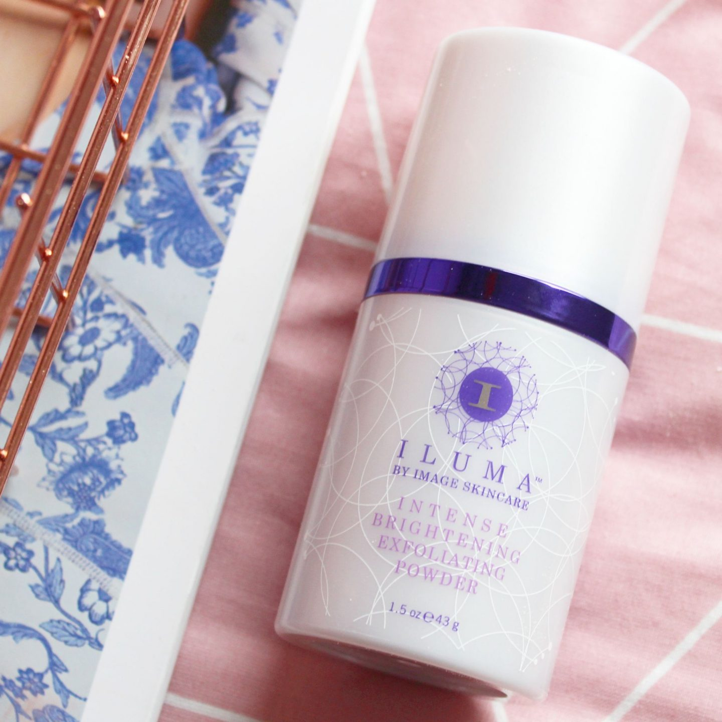 Halloween Skincare? | ILUMA Intense Brightening Exfoliating Powder with Pumkin Enzymes