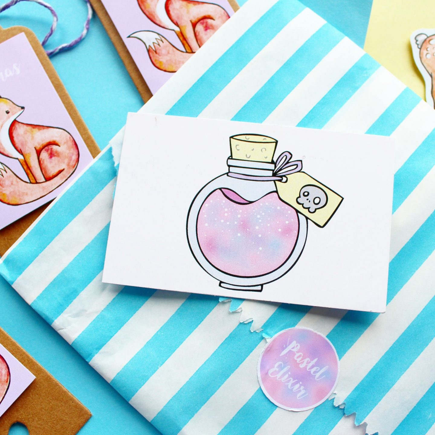 Pastel Elixir | An Adorable Handmade Christmas Haul