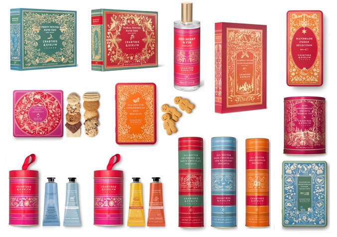 Crabtree & Evelyn Christmas Collection | Cocoon & Pamper Body Duo Gift Set