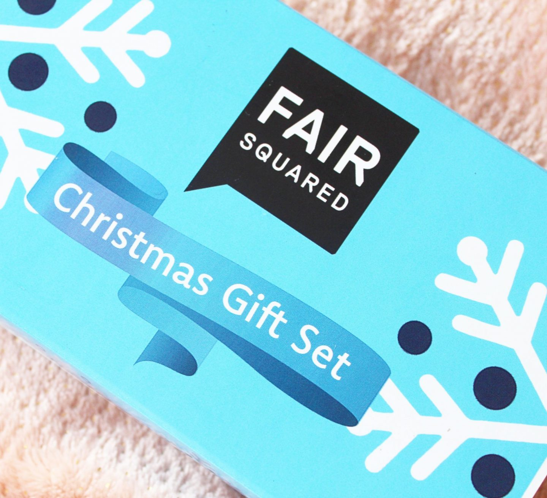 Fair Squared ChristmasGift Set