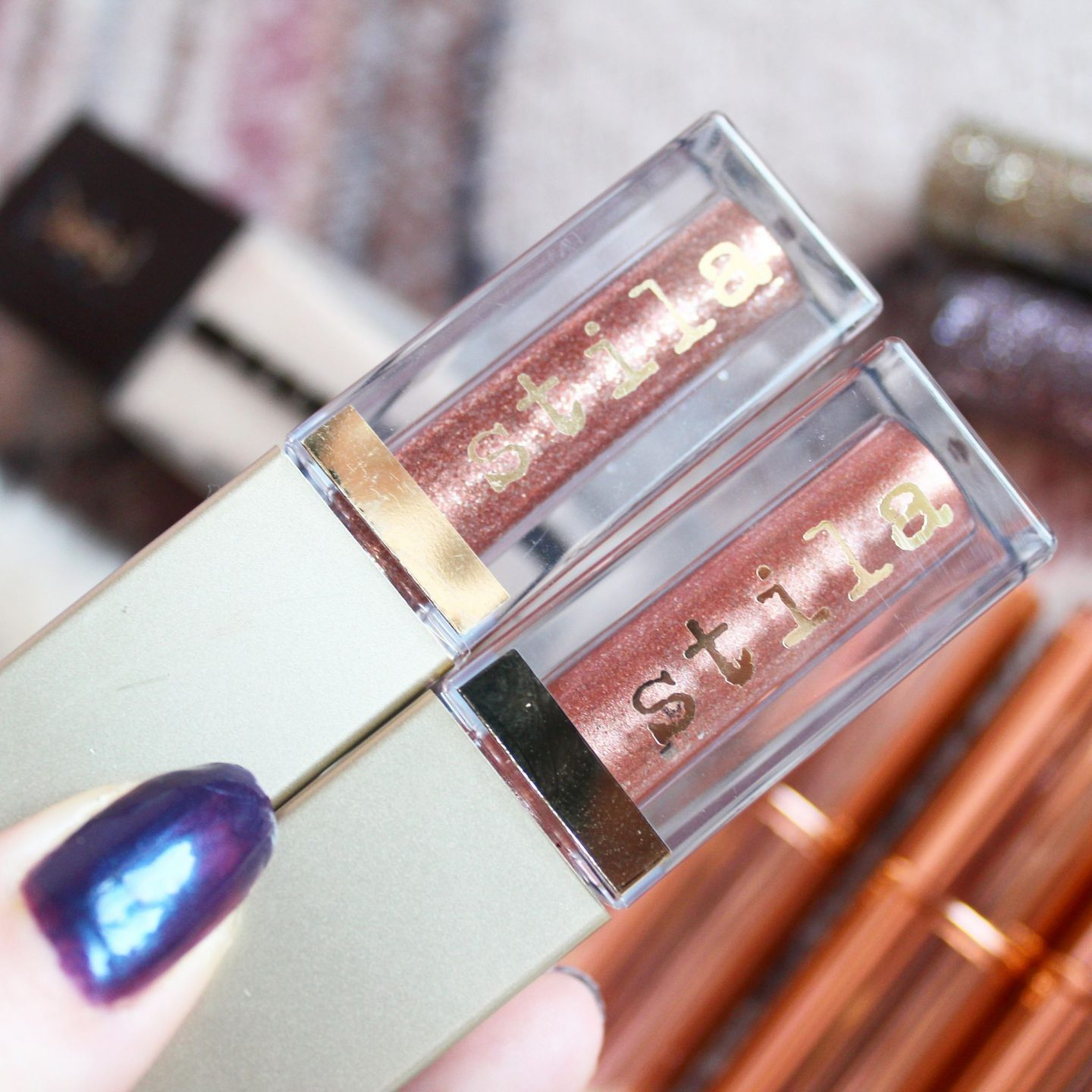 Stila Magnificent Metals Glitter & Glow Liquid Eye Shadow Collection