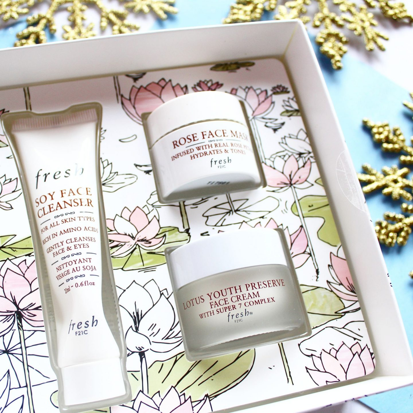 Fresh Christmas Collection | 'Facial On The Fly' Skincare Gift Set