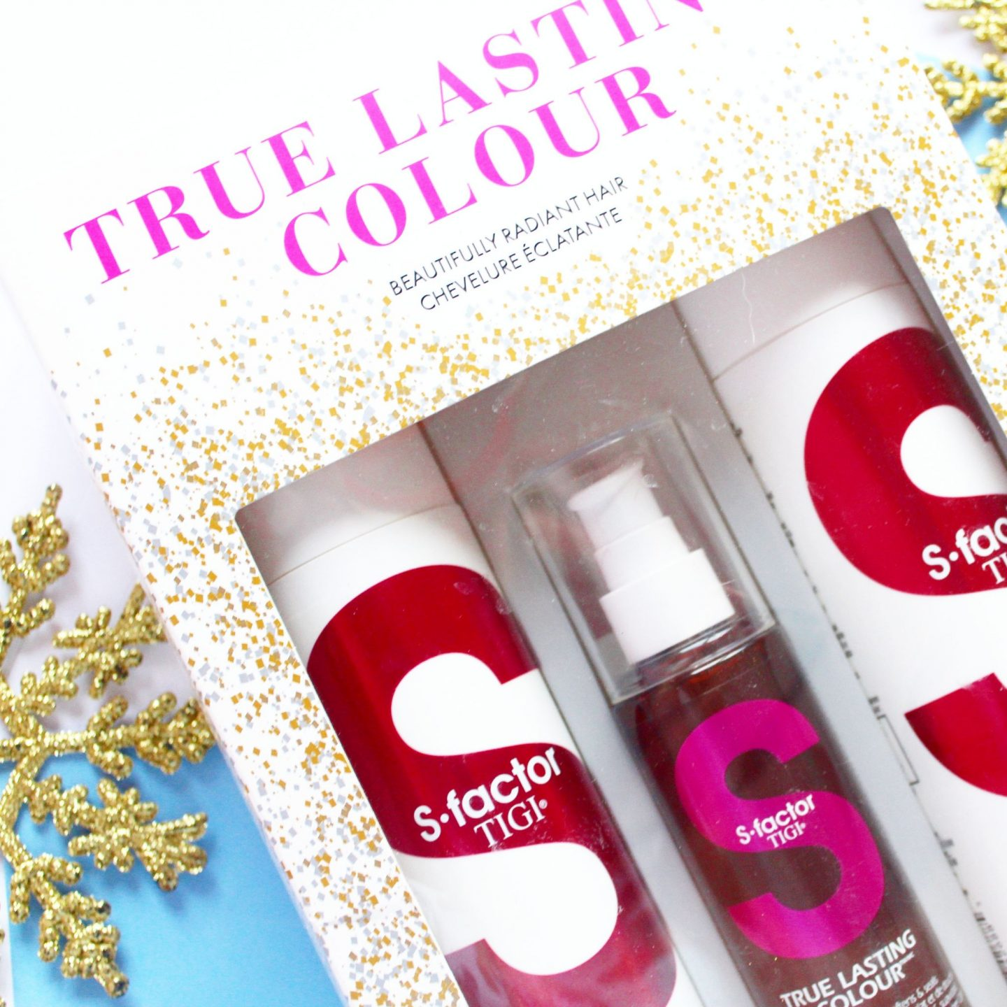 TIGI S-Factor Christmas 2017 True Lasting Colour Gift Pack