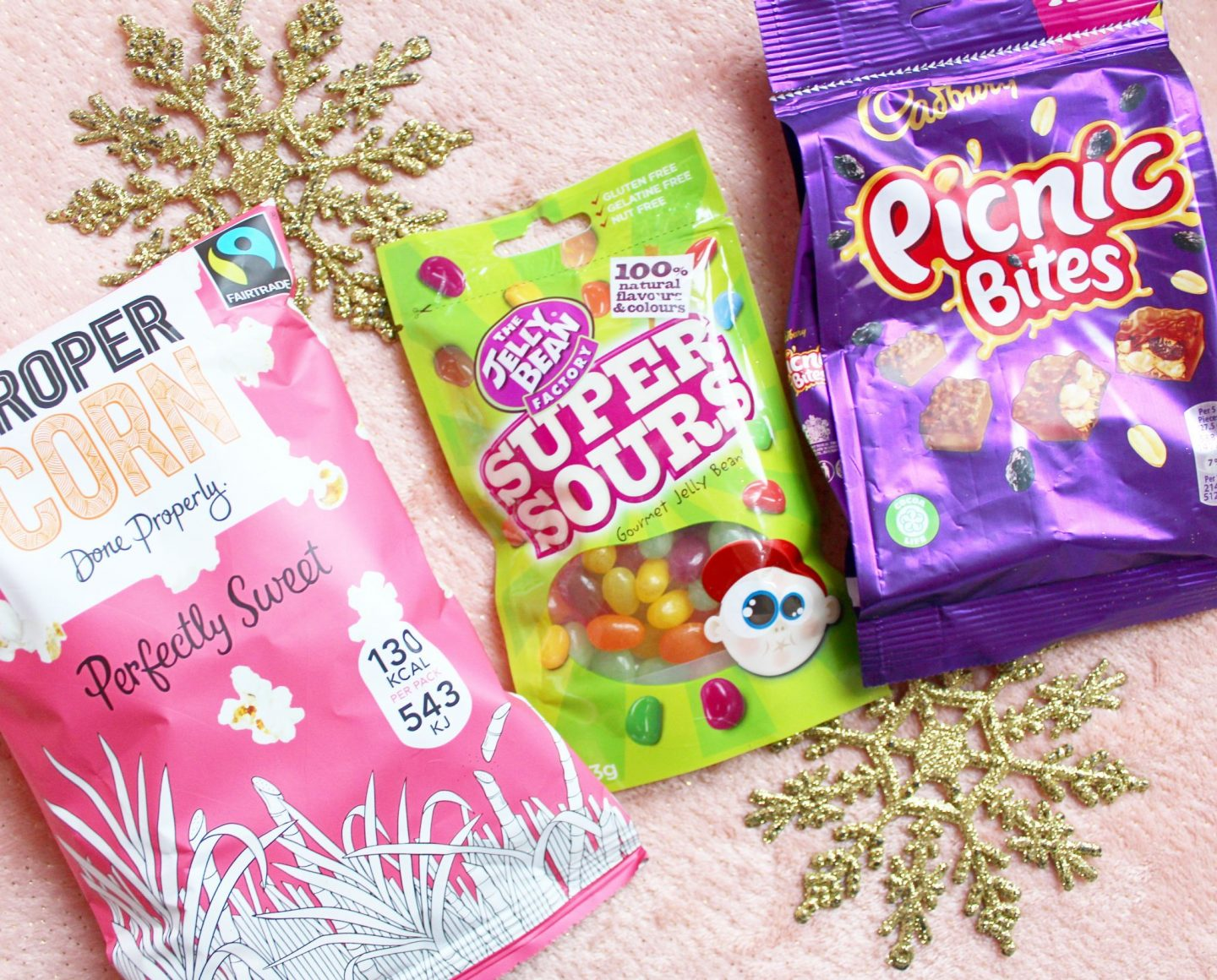 Degustabox | The Jelly Bean Factory, PROPERCORN & and Cadbury Picnic