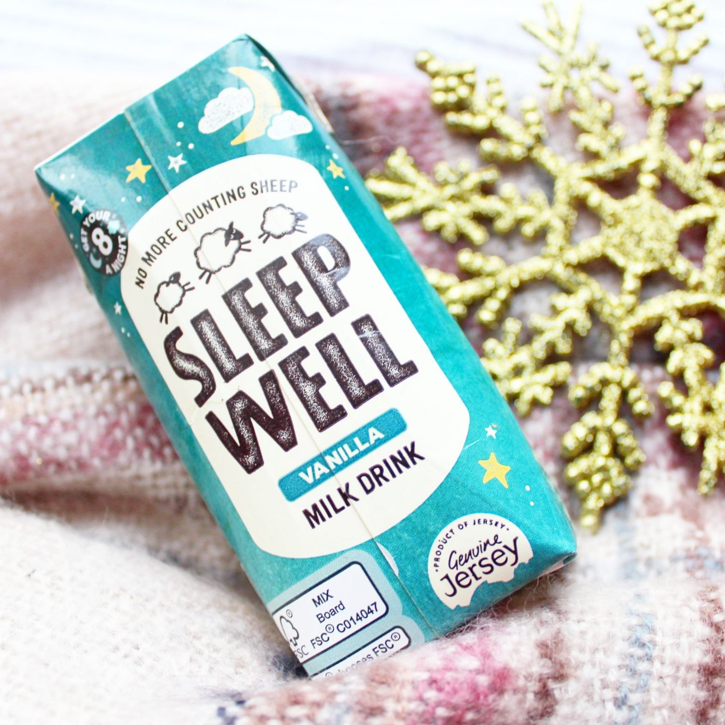 Degustabox | Sleep Well Vanilla Milk Drink