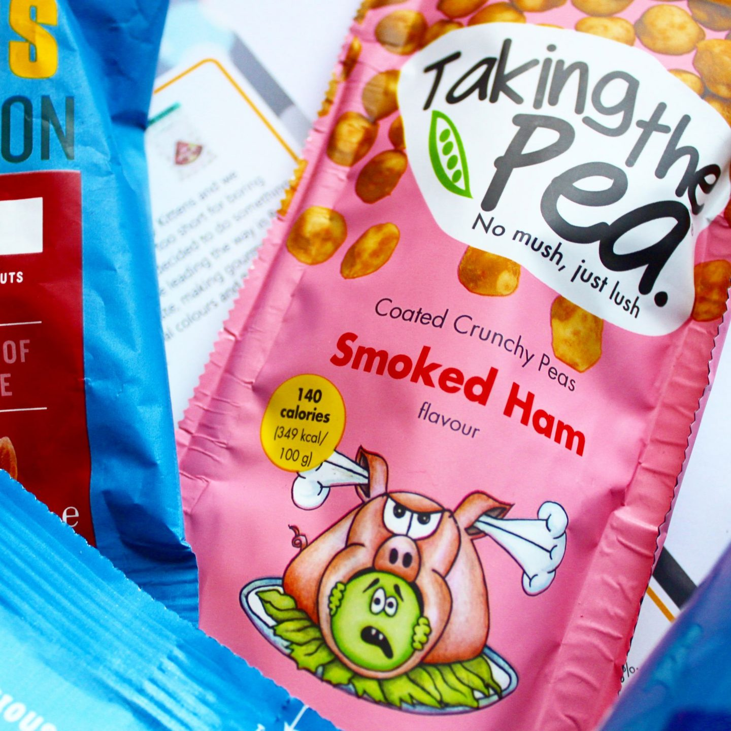 Degustabox | Taking the Pea Savoury Pea Grab n' Go Snack Pack