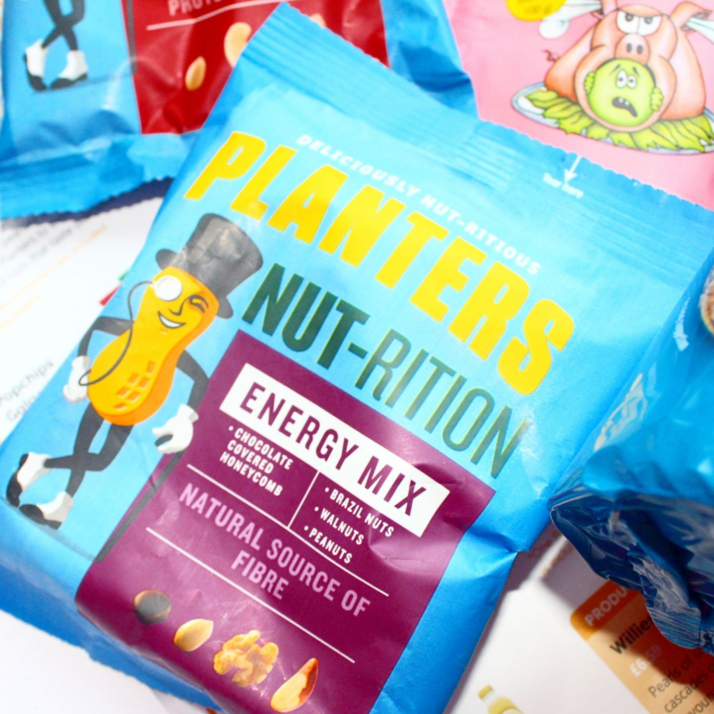 Degustabox | Planters Dried Fruit and Nut Energy Mix