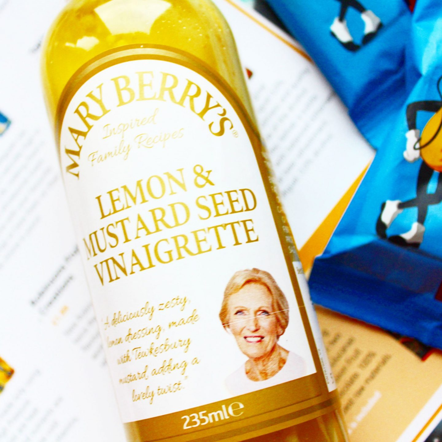 Degustabox | Mary Berry Lemon & Mustard Vinaigrette
