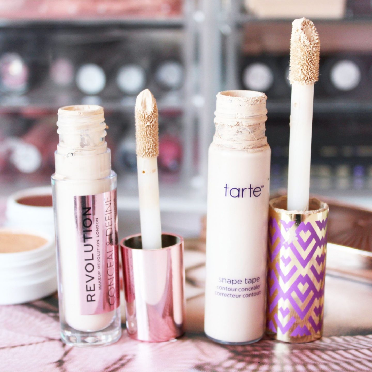 Makeup Revolution Conceal & Define Concealer | A Tarte Shape Tape Dupe?