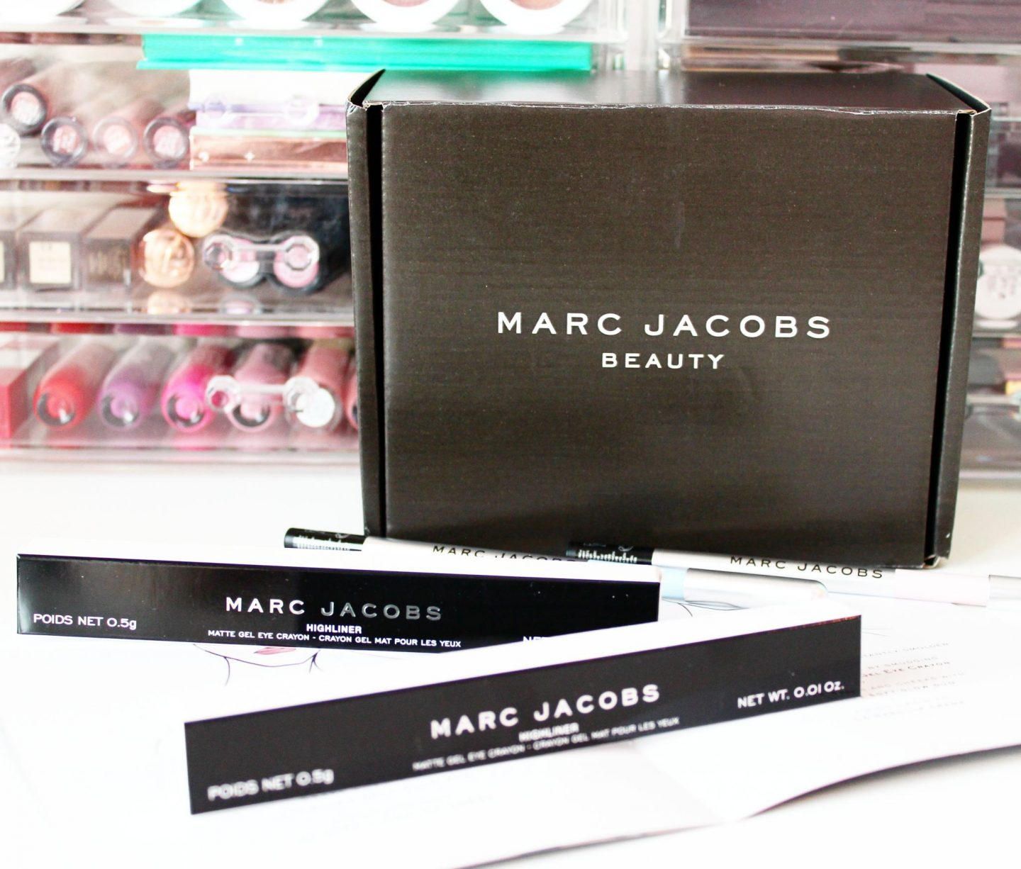Influenster UK | Marc Jacobs Beauty Highliner Eye Crayon VoxBox