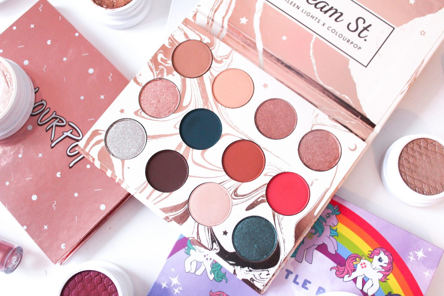Kathleen Lights X Colourpop | Dream St. Shadow Palette