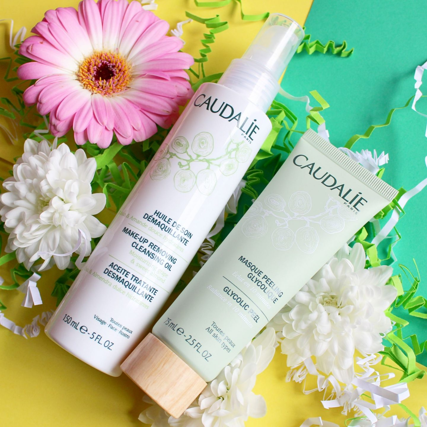 Mixing up Your Cleansing Routine with Caudalie | Make-up Removing Cleansing Oil