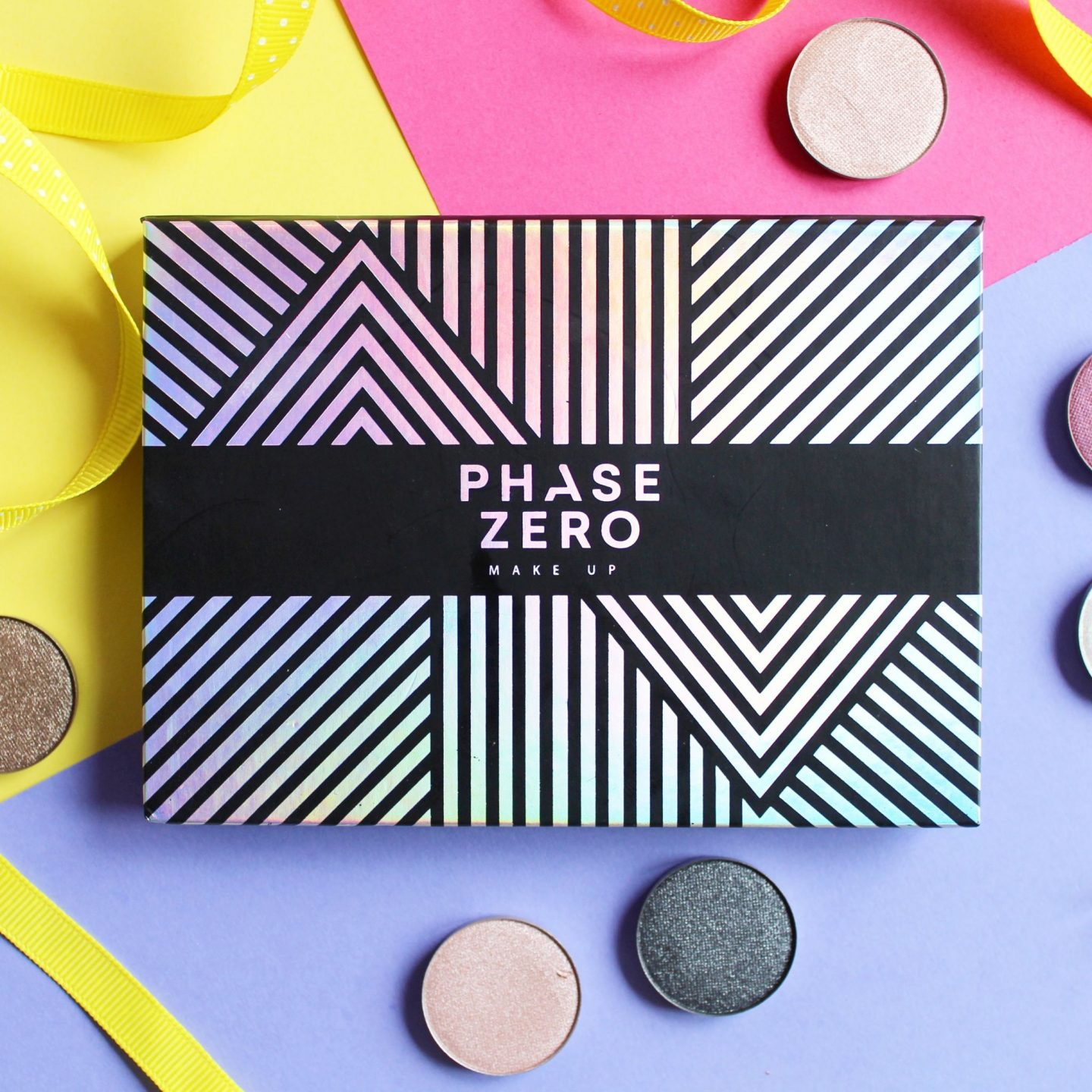 Phase Zero Makeup X Love Me Beauty | Magnetic Palette & Single Eyeshadows (+ £5 Off Discount Code)