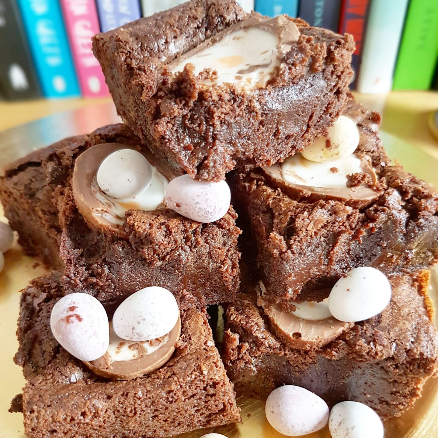 Happy Easter Everyone! | Creme Egg Brownies