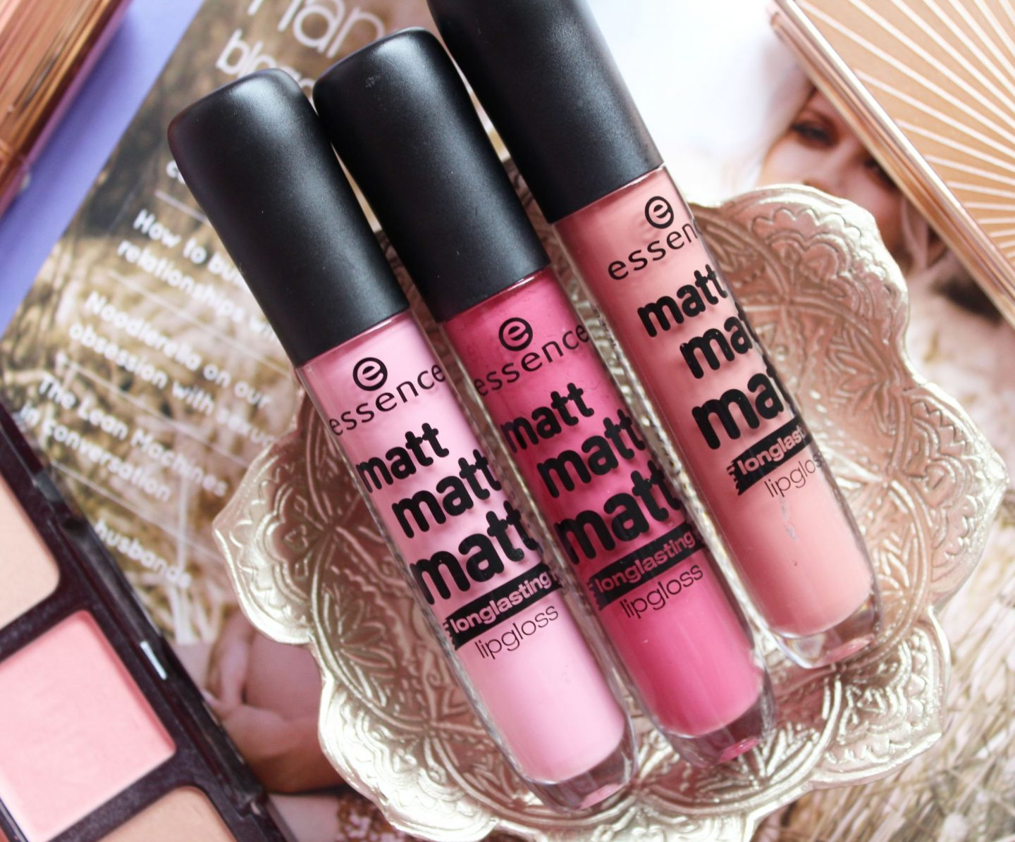 Essence Matt Matt Matt Longlasting Lipgloss Collection