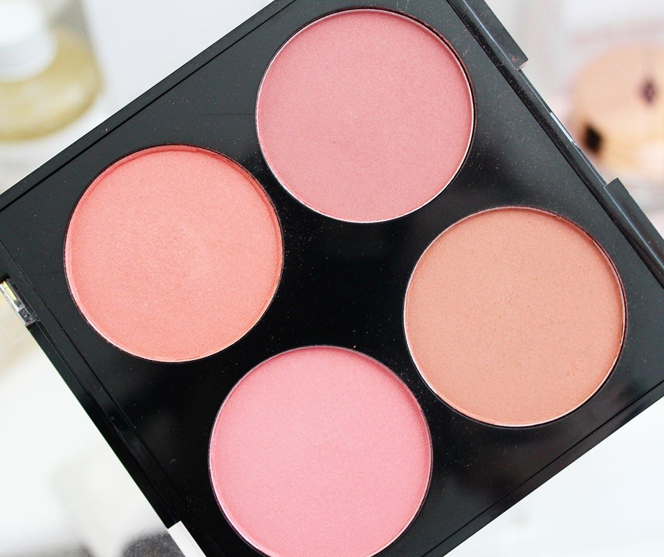 Nip+Fab Make Up Blusher Palette in Blushed | Review & Swatches